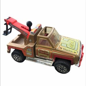 Vintage Tonka Towing 454 Steel Toy TowTruck